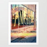 The Biggest Little City … Art Print
