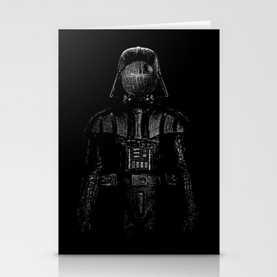 Darth Magritte Stationery Card