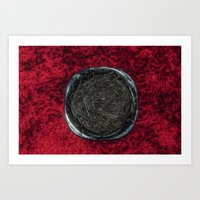 Food 1: Black Linguine O… Art Print
