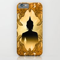 buddha iPhone & iPod Cases featuring Buddha  by nicky2342