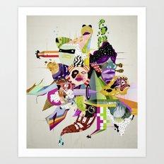 Futureworld #01 Art Print