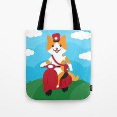 Postcat Tote Bag