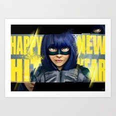 Happy new Hit Year ! :) Art Print