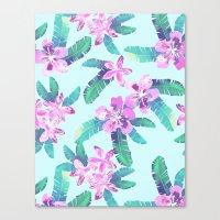 Tahitian Garden {D} Canvas Print