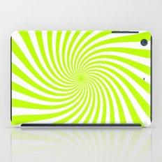 Swirl (Lime/White) iPad Case