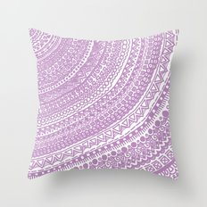 Pink Pulse o2. Throw Pillow