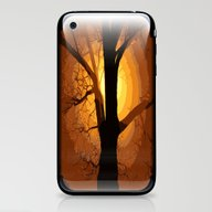 Sunset Over The Tree I iPhone & iPod Skin