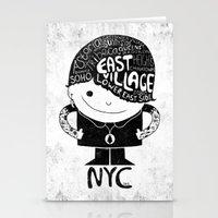 NYC Club Kid 2012 Stationery Cards