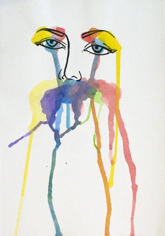 Jane Doe // Watercolour Art Print