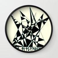 Take The Pain Away Wall Clock