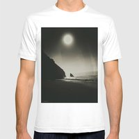 Black And White The Most… Mens Fitted Tee White SMALL