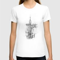 Metro Womens Fitted Tee White SMALL