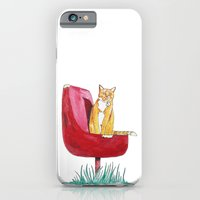 Rusty Cat iPhone 6 Slim Case