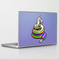 lady Laptop & iPad Skins featuring Lady by mirodeniro