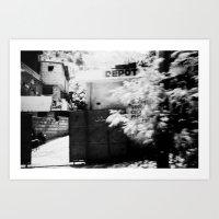 Haiti - Kodak BW400CN  Art Print