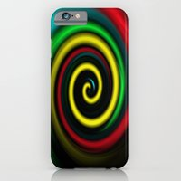 Swirling colours. iPhone 6 Slim Case