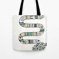 Snake fruit Tote Bag