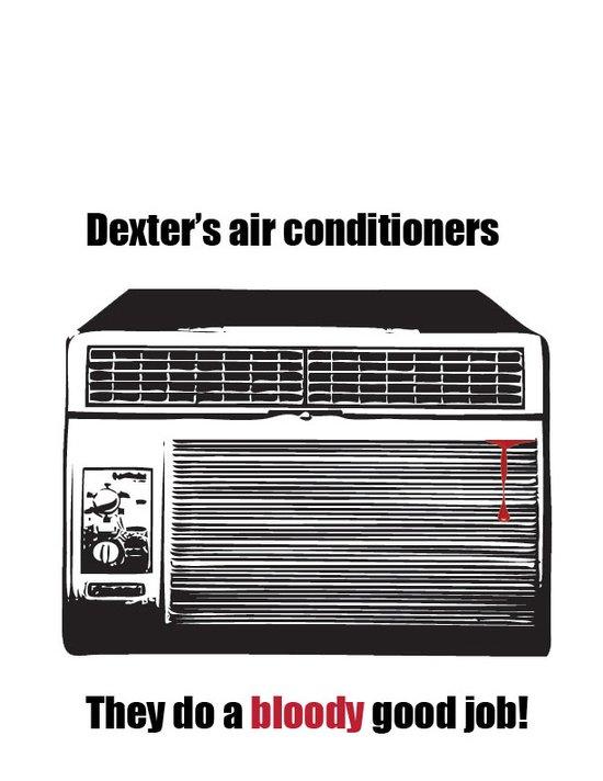 Dexter's air conditioners. Art Print
