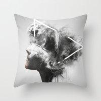 Nefretete Throw Pillow