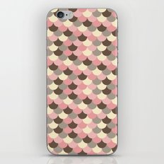 Strawberry Mouse Fish Scale Pattern iPhone & iPod Skin