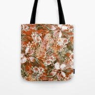 Tropical Orange Tote Bag