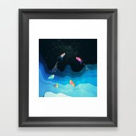 Come To Reach The Stars Framed Art Print