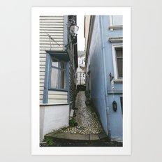 Bergen Alley Art Print