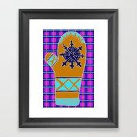 Cozy Up, Winter Cover Framed Art Print