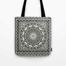 Orient Espresso Pattern Mandala Tote Bag