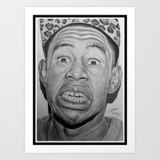 Tyler, The Creator Drawing Art Print