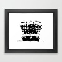 Tread Framed Art Print