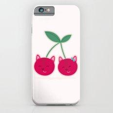 Cherry kitties iPhone 6 Slim Case