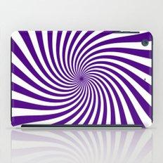 Swirl (Indigo/White) iPad Case