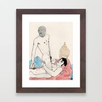 Load Control Framed Art Print