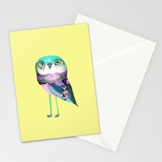Owl Print Stationery Cards