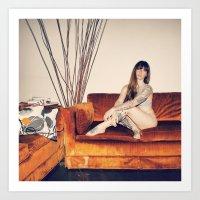 Hattie Couch Art Print