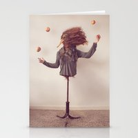 The Juggler Stationery Cards