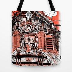 Sea of Red: Judgement Tote Bag