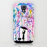 Galaxy S4 Cases featuring Deluge by Marc Allante