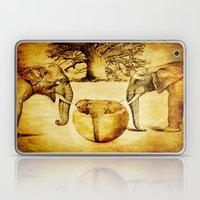 Birth of elephant Laptop & iPad Skin