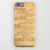 Viking Prayer iPhone 6 Slim Case