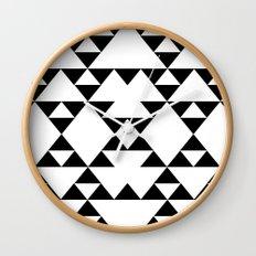 Tri-Tribe I Wall Clock
