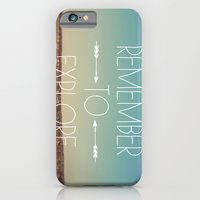 iPhone & iPod Case featuring Remember to Explore by Alicia Bock