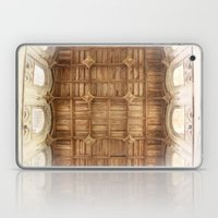 Wooden Church Ceiling  Laptop & iPad Skin