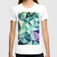 :: Digital Pattern :: Womens Fitted Tee White SMALL