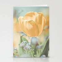 Bees And Flowers Stationery Cards