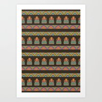 Traditional African Trib… Art Print