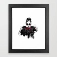 Lua // Fashion Illustrat… Framed Art Print