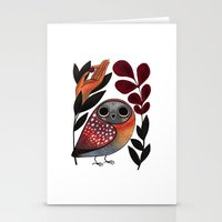 Ground Owl Stationery Cards