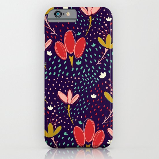 Vintage Ditsy Floral iPhone & iPod Case